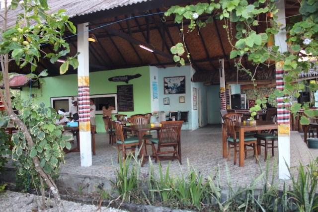 Warung-Pondok on Nusa Penida Island