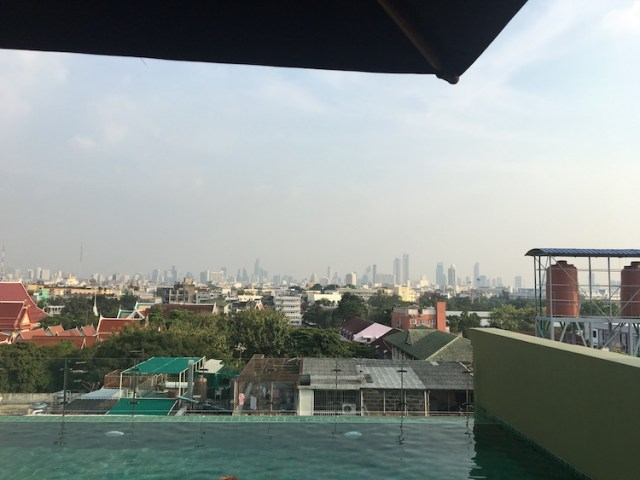 rooftop pool at Chillax heritage hotel
