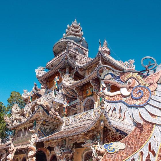 Featured image, Linh Phuoc Pagoda, Dalat, Vietnam