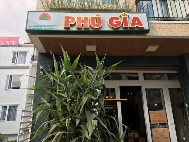 Phu Gia outside, Dalat Vietnam