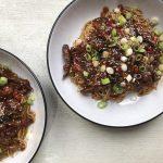 Crispy shredded beef – RECIPE
