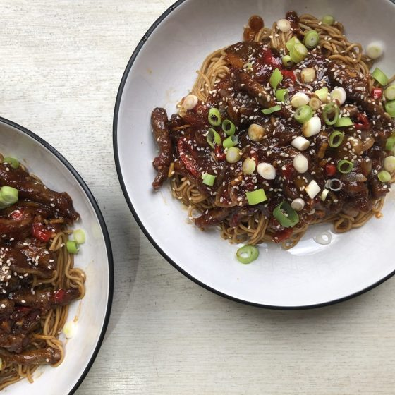 Crispy Shredded beef, feature image