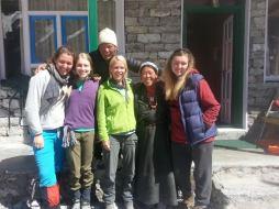 From left: Me, Ebeth, Karma (Chorten's husband), Kris, Chorten and Georg
