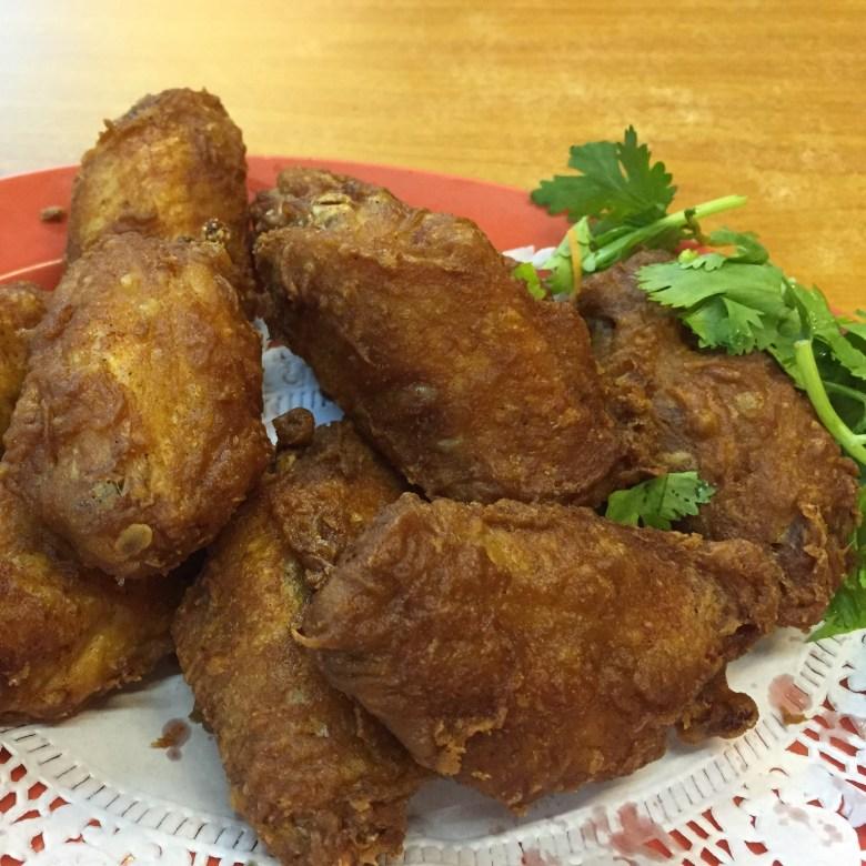 best prawn paste chicken wing