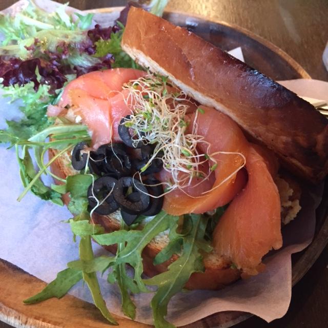Smoked Salmon Sandwich Dutch Colony