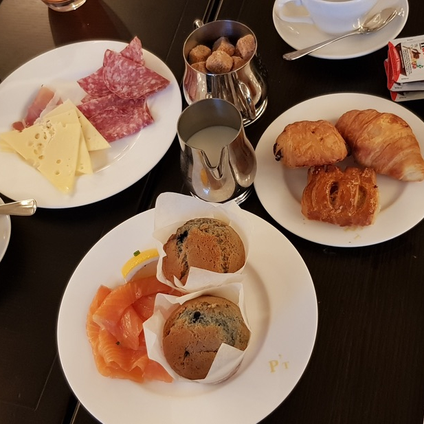 Buffet Breakfast Parkers Tavern Luxury University Arms Hotel Cambridge