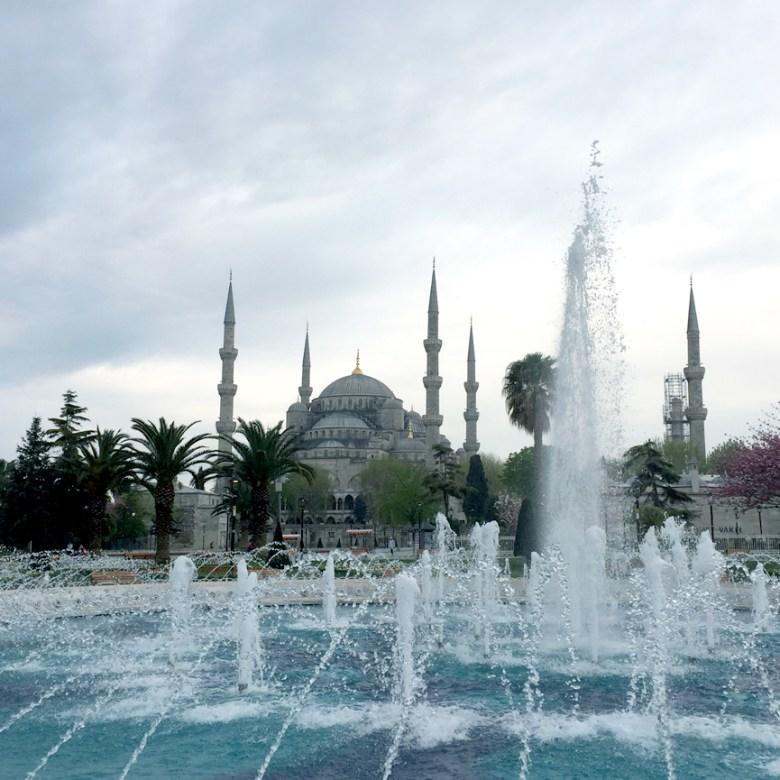#Istanbul #bluemosque #sultanahmetmosque #fountain