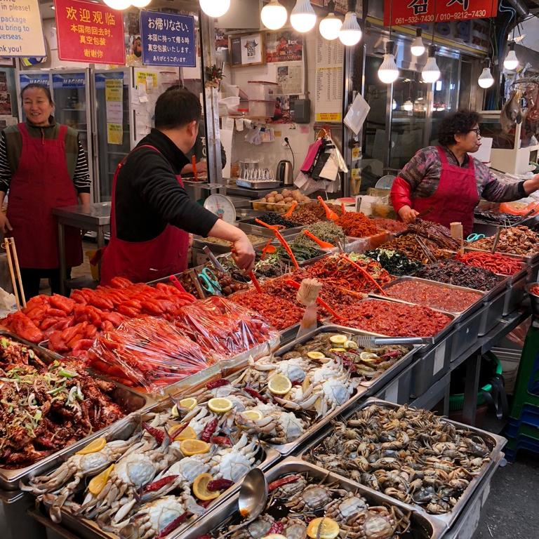 Seoul Itinerary Travel Tips Namdaemun Market