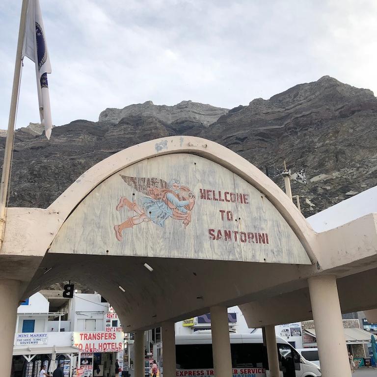 Off Peak Holiday Santorini Itinerary Travel Tips Ferry Port