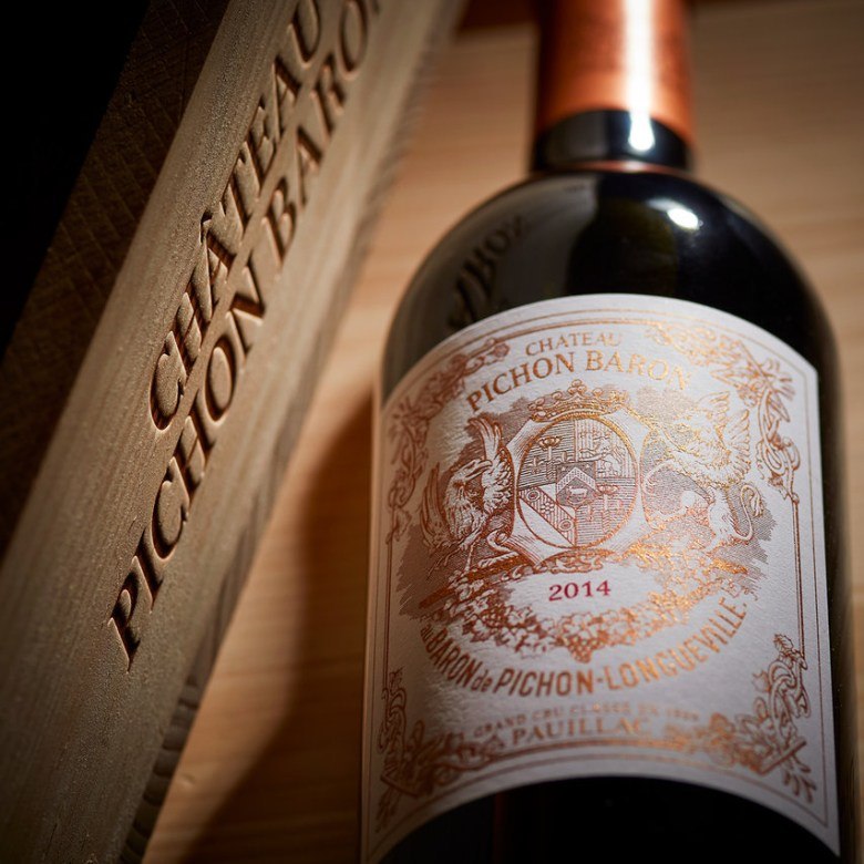 Northern Western France Driving Road Trip Itinerary Travel Tips Chateau Pichon Baron Red Wine Bottle