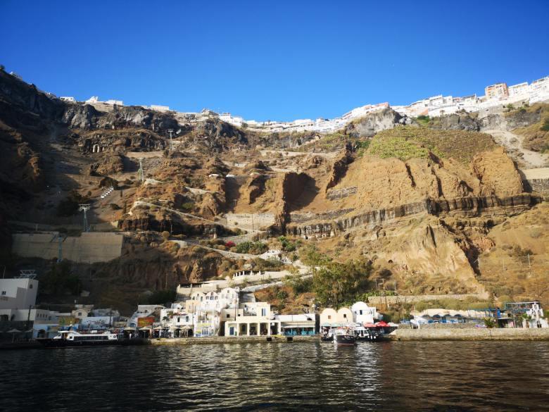 Off Peak Holiday Santorini Itinerary Travel Tips Fira Old Port Thira