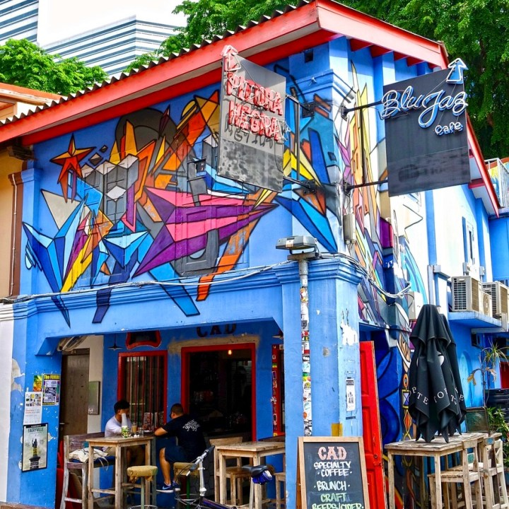 Holiday Singapore Itinerary Travel Tips Haji Lane Kampong Glam Arab Street Mural Wall Graffiti
