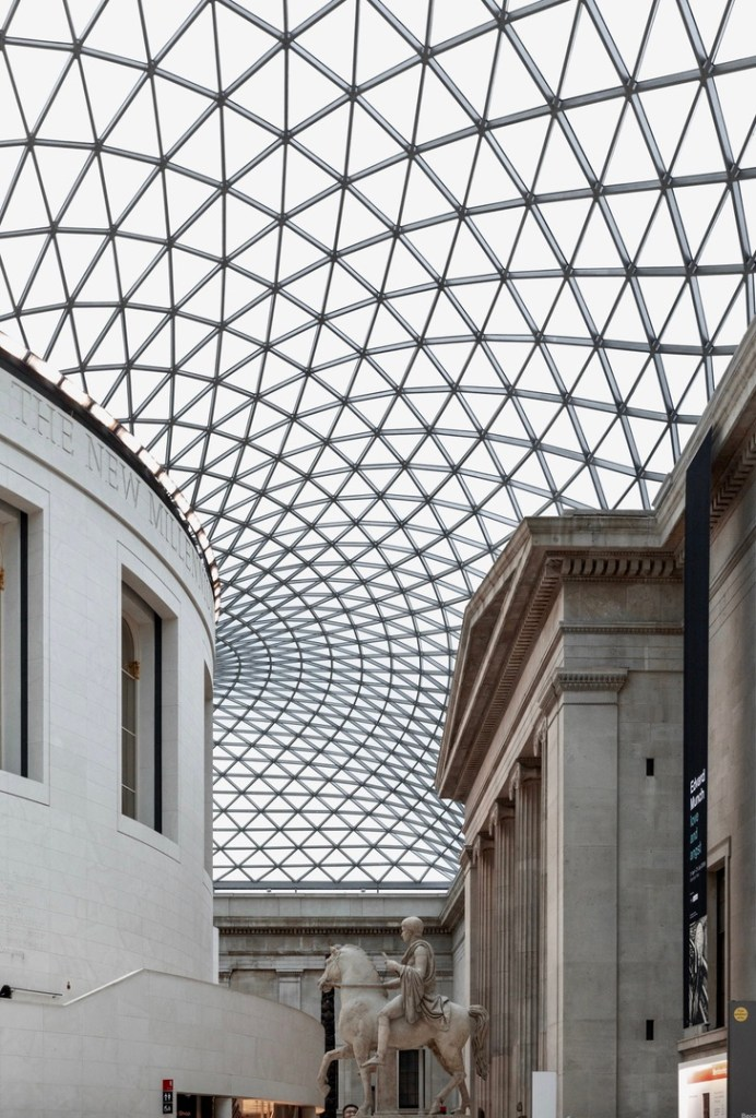 Holiday London Itinerary Travel Tips British Museum Great Court