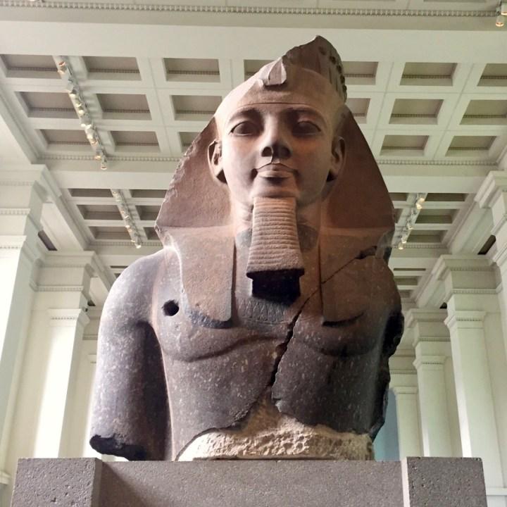 Holiday London Itinerary Travel Tips British Museum Pharaoh Ramesses