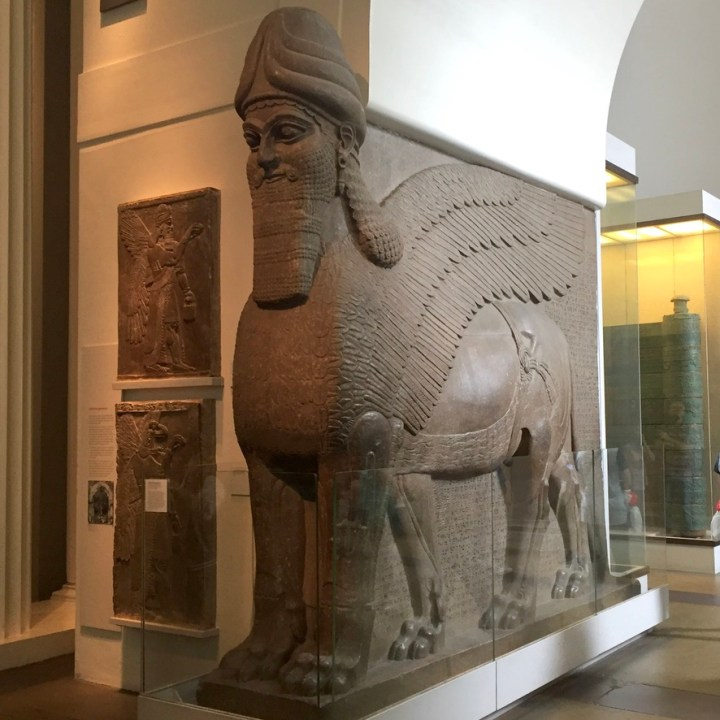 Holiday London Itinerary Travel Tips British Museum Assyrian Winged Lion