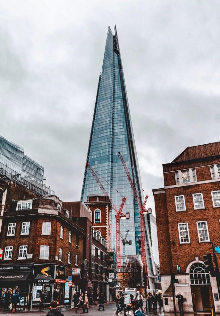 Holiday London Itinerary Travel Tips The Shard