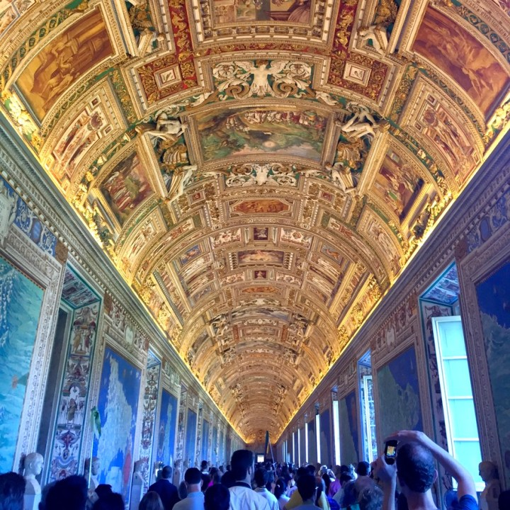 Rome Travel Itinerary Travel Tips Vatican Museums Gallery of Maps