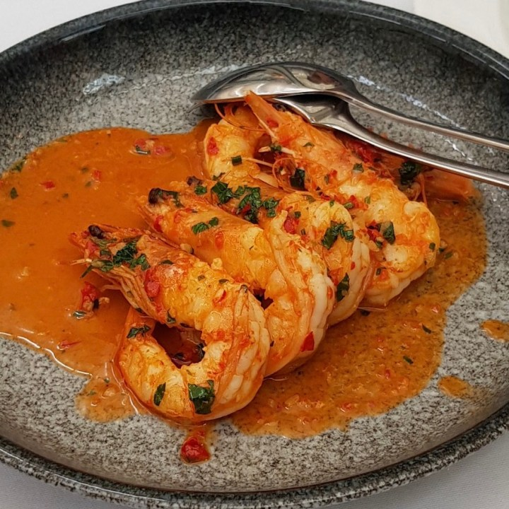Daphne's Classic Italian Restaurant South Kensington Prawn Chilli Garlic