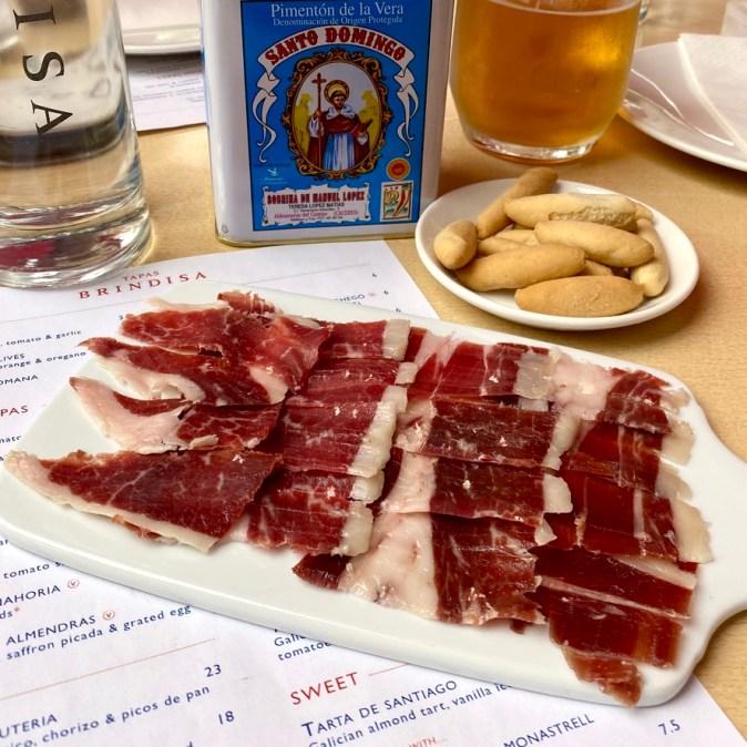 Tapas Brindisa Spanish Restaurant South Kensington Dog Friendly Al Fresco Review Jamon Iberico