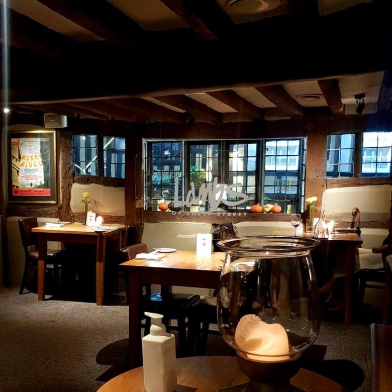 Romantic Cosy Dinning Stratford Upon Avon British Restaurant Interior
