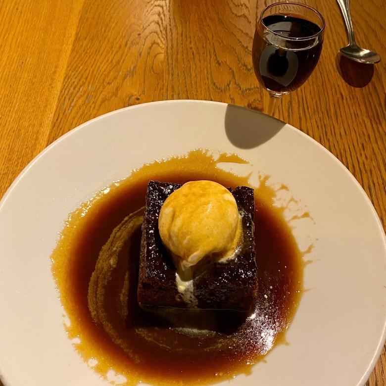 Romantic Cosy Dinning Stratford Upon Avon British Restaurant Sticky Toffee Pudding Krohn Porto Coheita