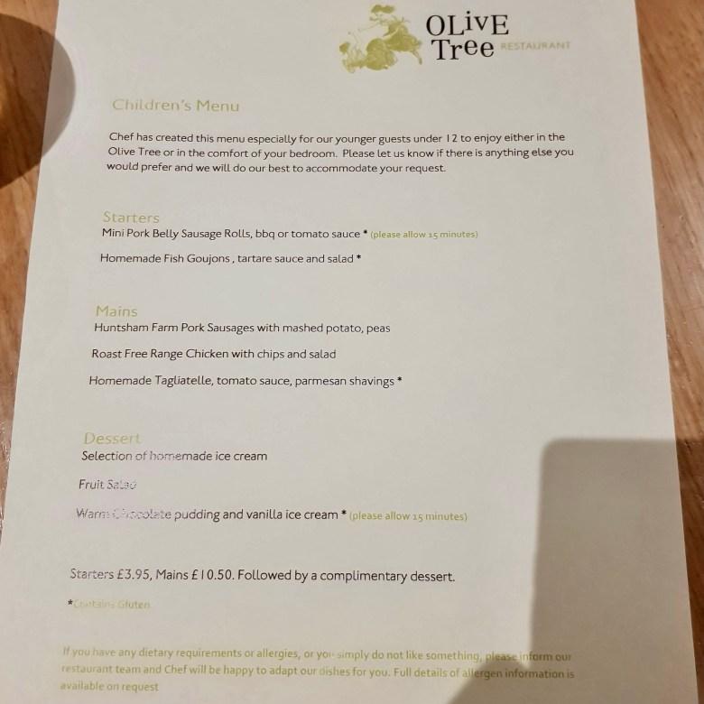 Olive Tree Bath Restaurant Michelin Star Queensberry Hotel Modern European Chef Chris Cleghorn Vegan Tasting Menu Nine Six Wine Pairing Children Menu