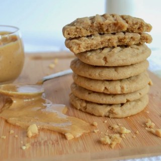 Chewy, Peanut Buttery, PB Cookies