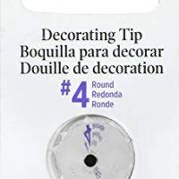 Wilton 418-4 No.4 Decorating Tip, Round