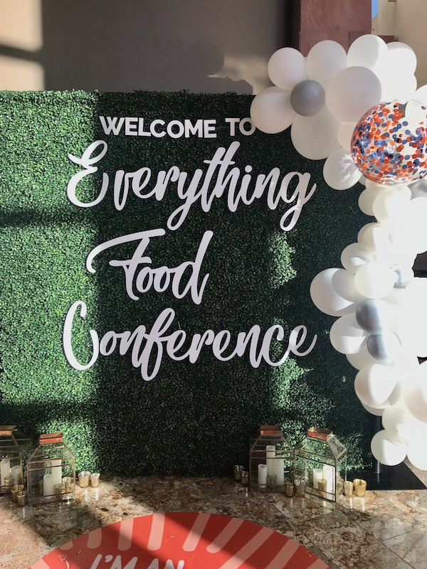 everything food conference sign