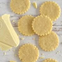 White Chocolate Sugar Cookies