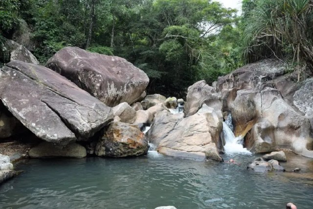 Ba Ho Waterfalls in Nha Trang Vietnam Backpacker's Guide to Vietnam