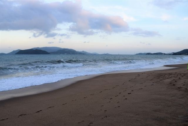 Frothy Beach in Nha Trang Vietnam Backpacker's Guide to Vietnam