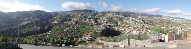 Panorama view from Pico da Cruz