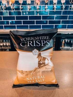 Yorkshire Crisps - Natural Salt
