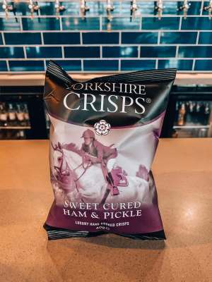 Yorkshire Crisps - Sweet Cured Ham and Pickle