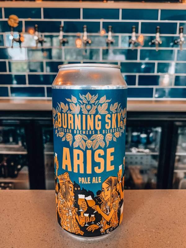 Burning Sky - Arise (4.4%)