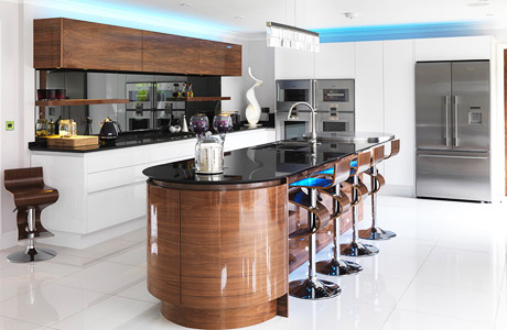 High Gloss Kitchens Lacquered Handleless Amp Acrylic