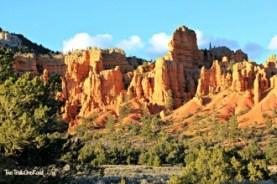 Entering Bryce Canyon