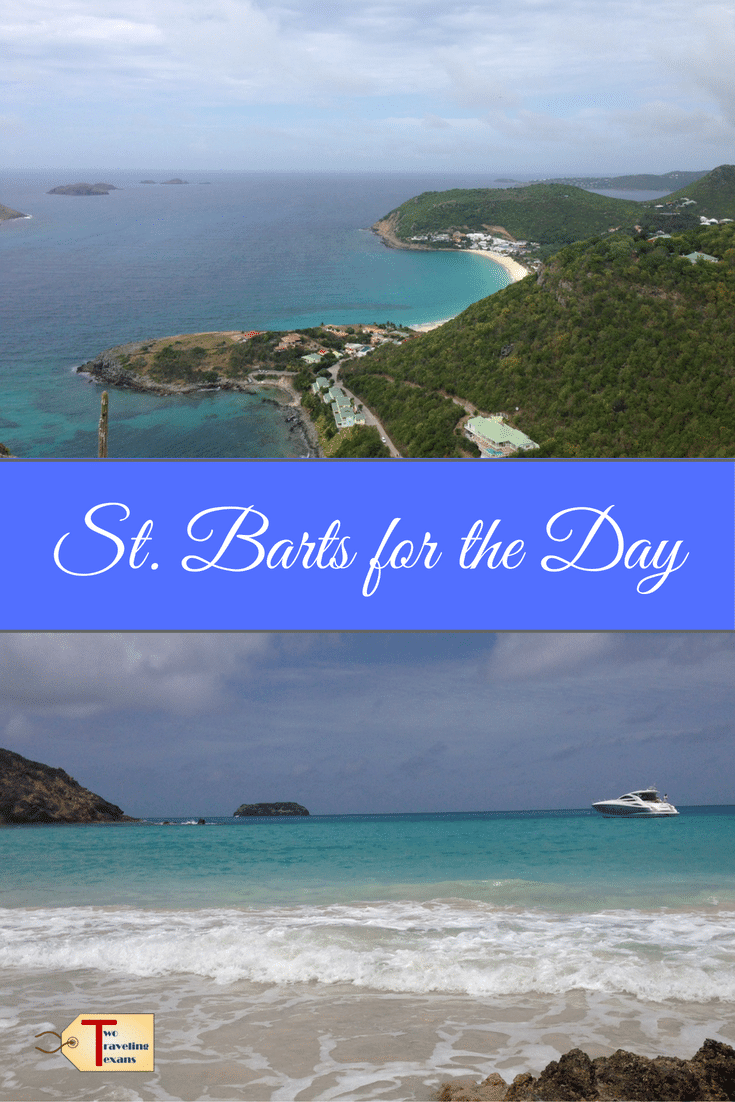 Tips for your day trip to St. Barts from St. Martin with suggestions on what to see, eat, and drink. Also, includes information on the ferry. #caribbean #beachday #daytrip