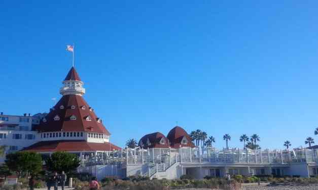 Hotel del Coronado (& my hectic morning getting there)