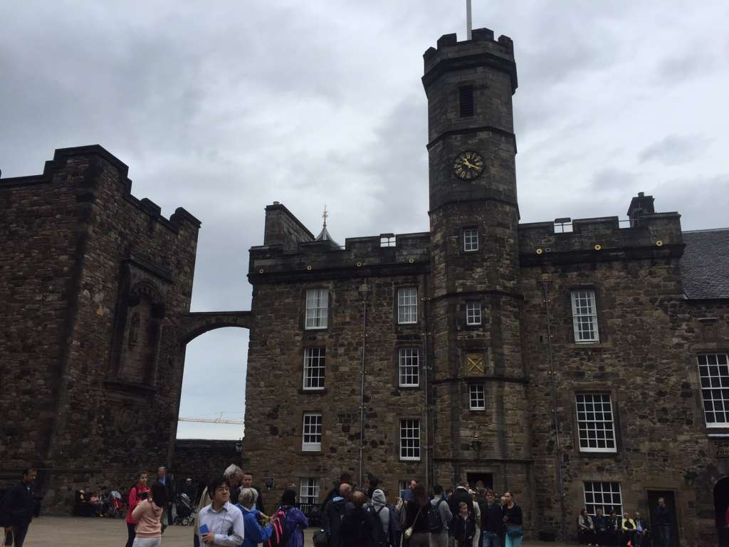 "Pictures of Edinburgh Castle - Inside this building you will find the Crown Jewels. Warning get there early, just look at the line. - ""Experiencing History at Edinburgh Castle"" - Two Traveling Texans"