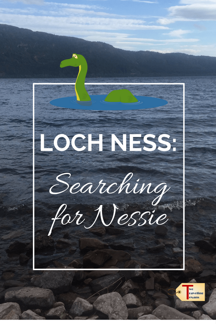 A travel blog about searching for Nessie, the Loch Ness Monster, by going to the Loch Ness Exhibition Centre and taking a cruise with Cruise Loch Ness.