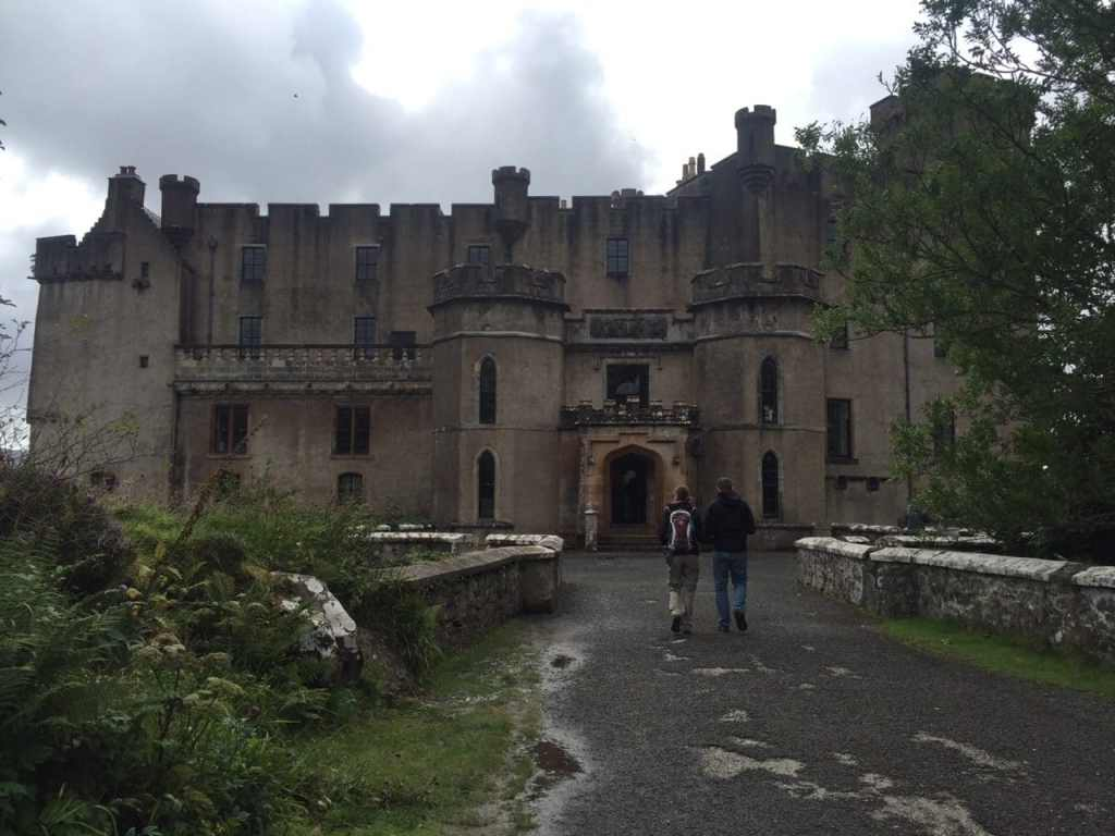 "The entrance to Dunvegan Castle. - ""Dunvegan Castle and the Fairy Flag"" - Two Traveling Texans - Dunvegan Castle Images"