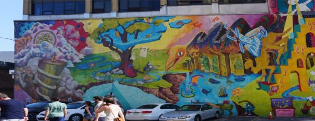 "How to Turn Anything Into Something Else has such a positive message! - ""Philadelphia Mural Mile Tour: Get Inspired!"" - Two Traveling Texans"