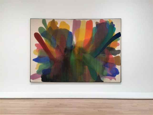 """Morris Louis's Untitled - """"SFMOMA: Modern Art in a New Setting"""" - Two Traveling Texans"""