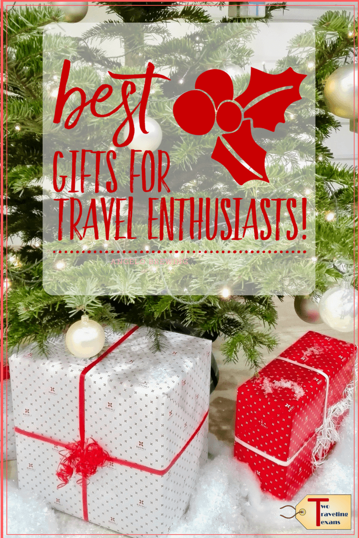 Get suggestions on the best gifts for travel enthusiasts that are useful, funny, and make traveling easier. Also includes travel stocking stuffer ideas. #travelgifts #christmasgiftsfortravelers #usefultravelgifts #travelstockingstuffers #christmasgiftideas #travelgifts