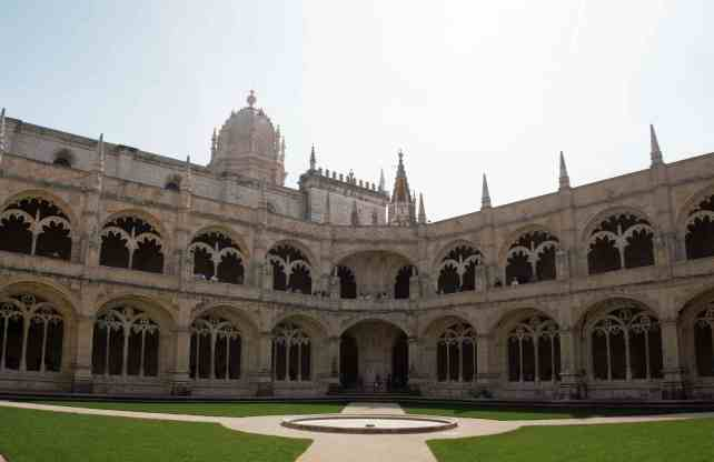 """The details inside the Cloisters are impressive as well. - """"The Best Things to Do in Belem (Lisbon)"""" - Two Traveling Texans"""