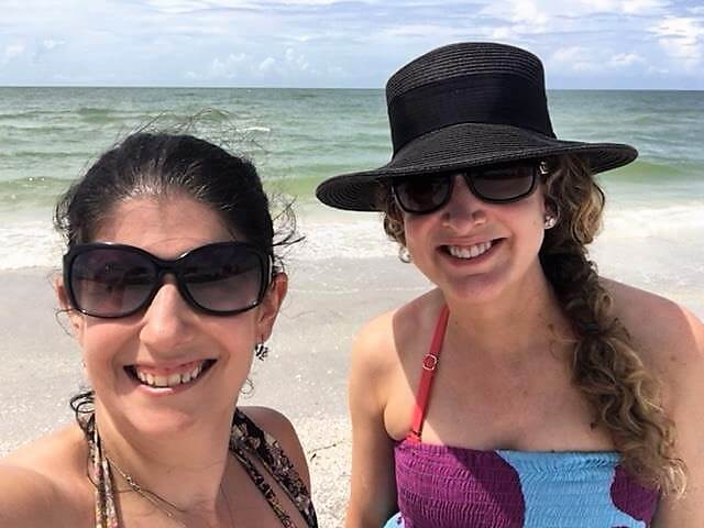 """Anisa & Julie in Sanibel Island, Florida - """"The Search for Sanibel Island Shells"""" - Two Traveling Texans"""