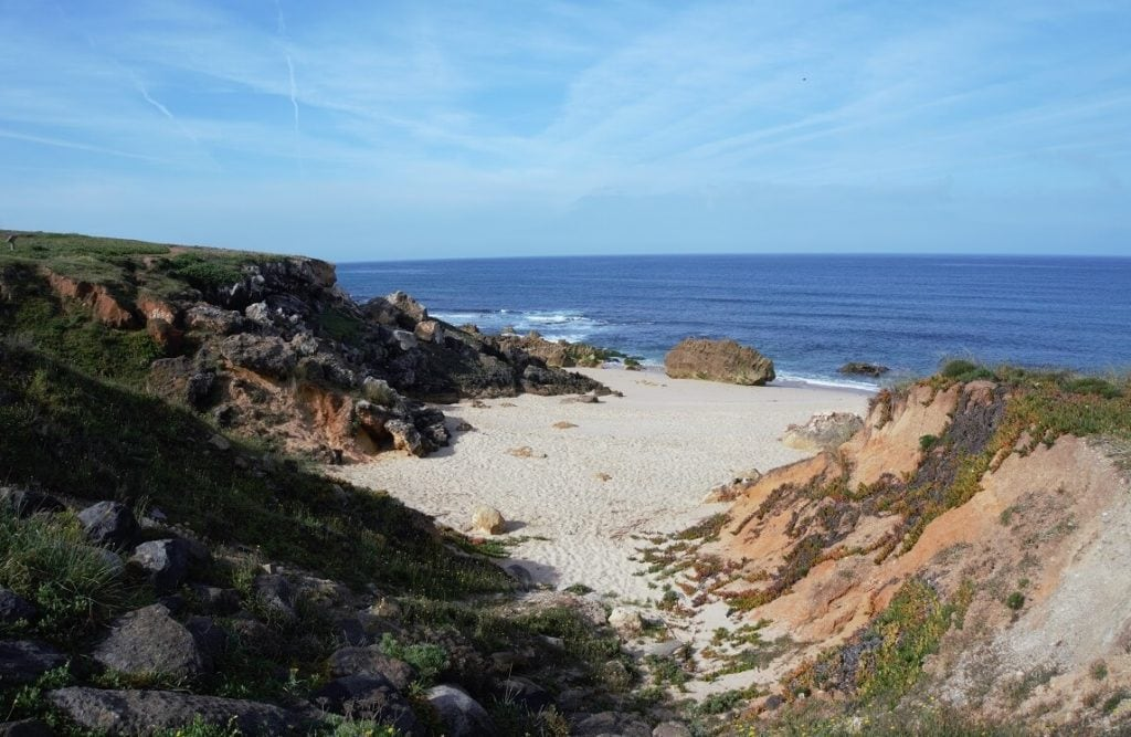 """The Algarve coast is so scenic! - """"Our Amazing Portugal Road Trip Itinerary"""" - Two Traveling Texans"""