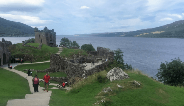 Explore Urquhart Castle on Loch Ness